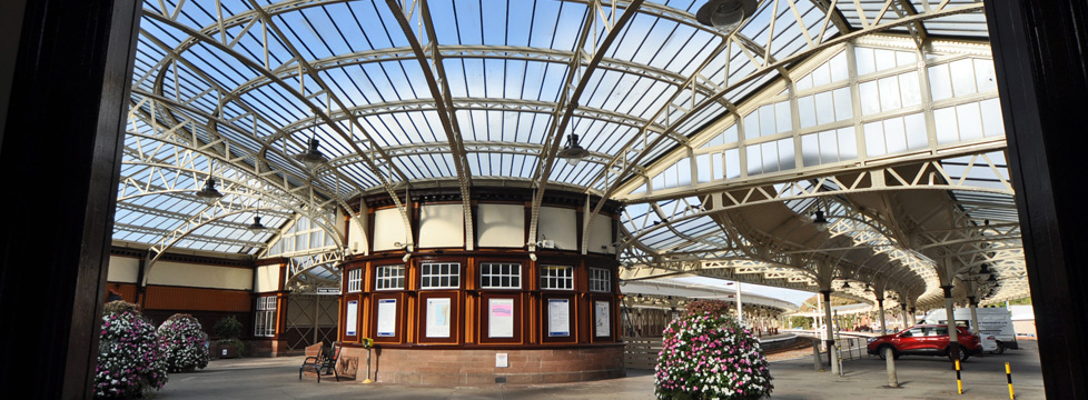 Featured Location - Wemyss Bay train station image
