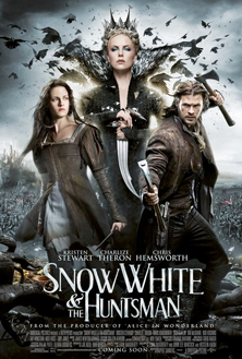 snow-white-huntsman-poster image