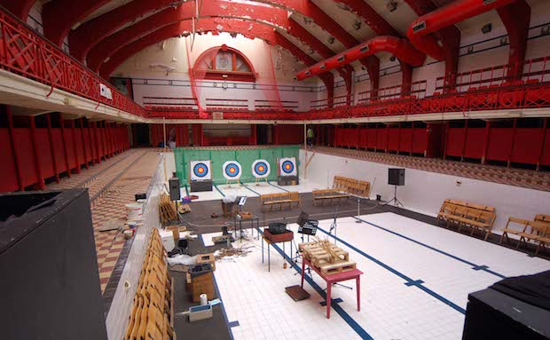 Govanhill Baths Swimming Pool