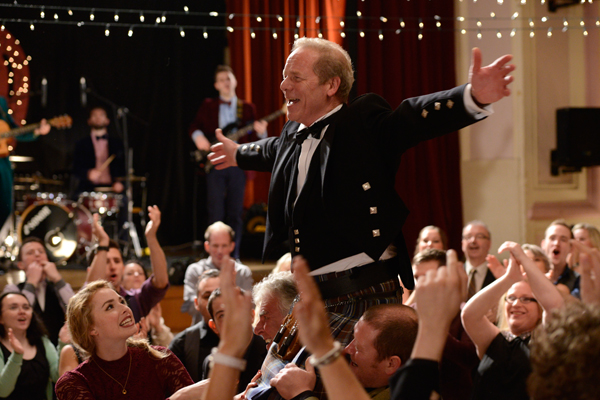 Peter Mullan in Sunshine On Leith (photo: courtesy DNA Film)