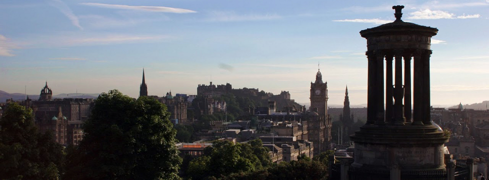 Featured Location - Edinburgh skyline image